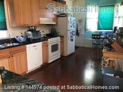 Sunny 2 bedroom house, 3 miles to UC, bikeable/walkable neighborhood Home Rental in Emeryville, California, United States 4