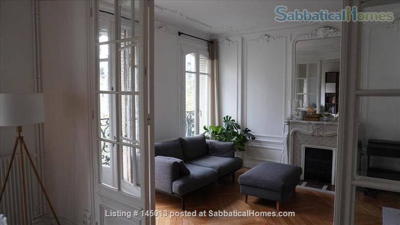 Light, spacious Parisian flat by the Jardin du Luxembourg Home Exchange in Paris, Île-de-France, France 0