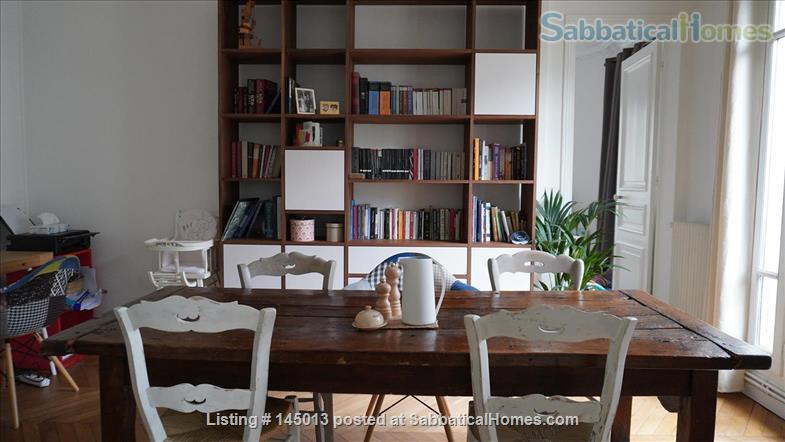 Light, spacious Parisian flat by the Jardin du Luxembourg Home Exchange in Paris, Île-de-France, France 2