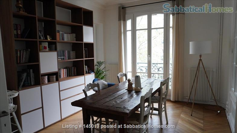 Light, spacious Parisian flat by the Jardin du Luxembourg Home Exchange in Paris, Île-de-France, France 4