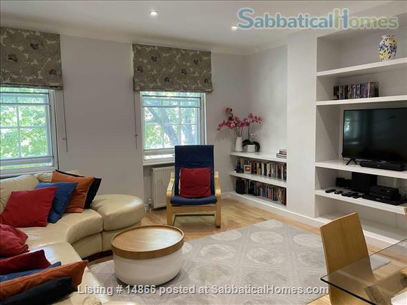 A light-filled and spacious 2 bedroom apartment in beautiful, historic Hampstead Home Rental in Greater London, England, United Kingdom 0