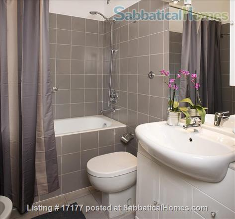 Garden apartment oasis in central Rome (Gianicolo) Home Rental in Rome 9