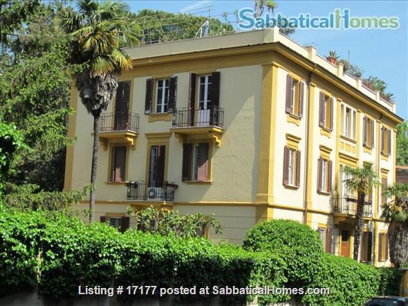 Garden apartment oasis in central Rome (Gianicolo) Home Rental in Rome 1
