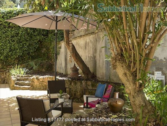 Garden apartment oasis in central Rome (Gianicolo) Home Rental in Rome 0