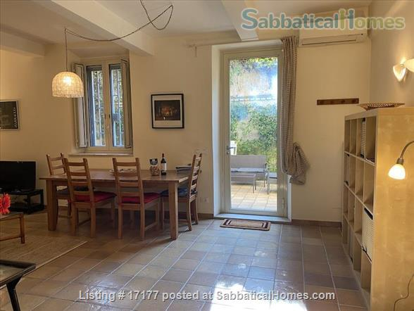 Garden apartment oasis in central Rome (Gianicolo) Home Rental in Rome 3