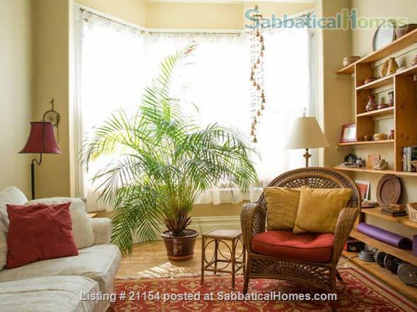 Spacious Sunny Mission Home with Garden & Parking Home Rental in San Francisco 1