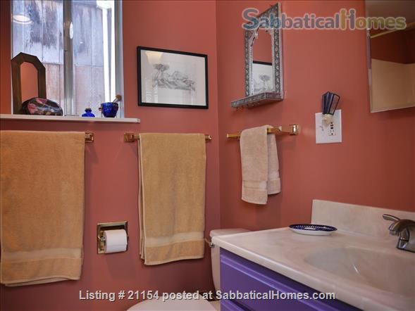 Spacious Sunny Mission Home with Garden & Parking Home Rental in San Francisco 5