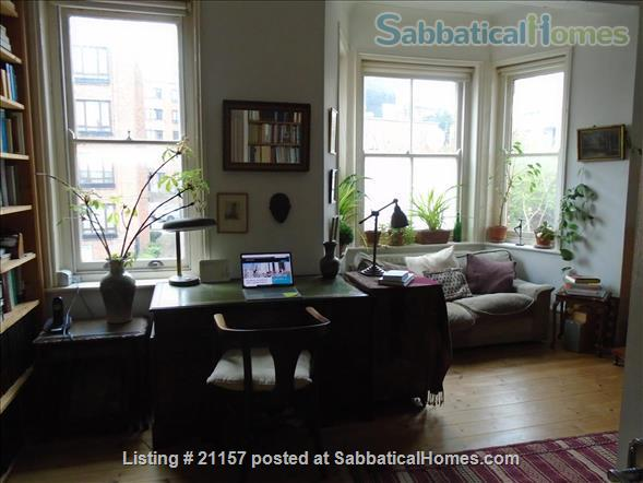 A quiet, light-flooded flat in London 3/4 hour from Russel Sq., British Library, London main universities Home Rental in Greater London, England, United Kingdom 1