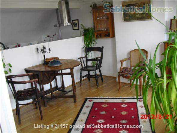 A quiet, light-flooded flat in London 3/4 hour from Russel Sq., British Library, London main universities Home Rental in Greater London, England, United Kingdom 0
