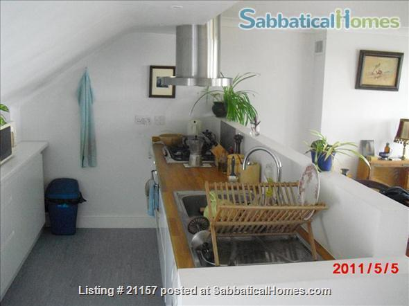 A quiet, light-flooded flat in London 3/4 hour from Russel Sq., British Library, London main universities Home Rental in Greater London, England, United Kingdom 5