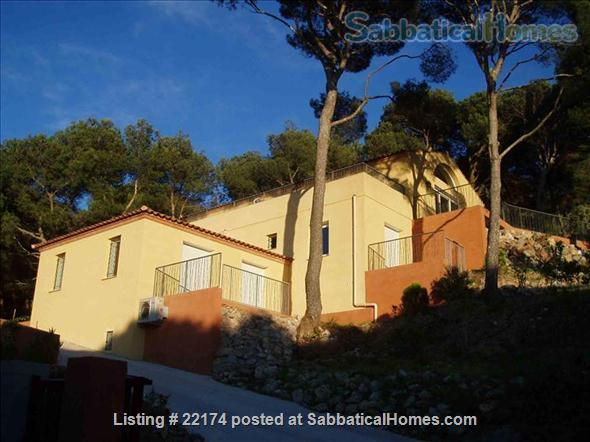 Villa for Rent/Villa a Louer Near Montpellier Home Rental in Sète, Languedoc-Roussillon, France 1