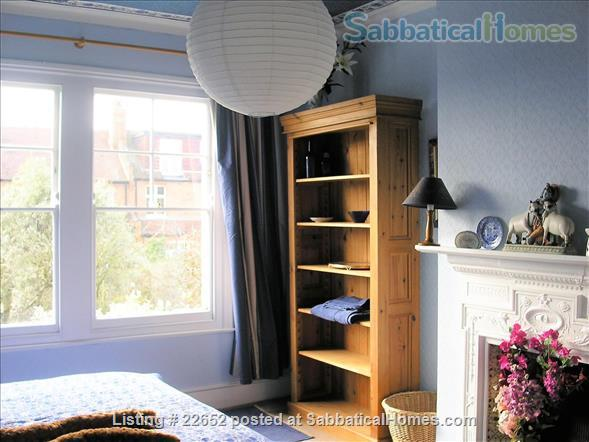 Fabulous rooms in beautiful Edwardian house in Muswell Hill.  (Near underground) Home Rental in Muswell Hill, England, United Kingdom 0
