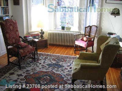 Historic Boston Town House for exchange with or rent to  academic family Home Exchange in Boston, Massachusetts, United States 0