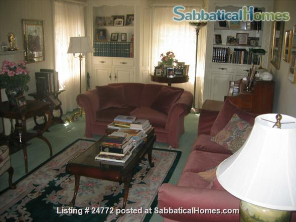 Lovely, comfortable furnished house  in Newton Centre, MA,  September  2021 to June 30, 2022 Home Rental in Newton, Massachusetts, United States 4