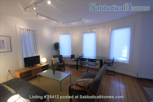 Sunny 2BR furnished apartment in walking distance to Harvard/MIT/ B.U. Home Rental in Cambridge, Massachusetts, United States 1