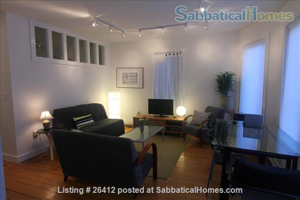 Sunny 2BR furnished apartment in walking distance to Harvard/MIT/ B.U. Home Rental in Cambridge, Massachusetts, United States 0