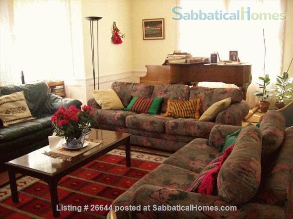 large 3br house in Elmwood neighborhood, Berkeley, CA Home Rental in Berkeley, California, United States 1