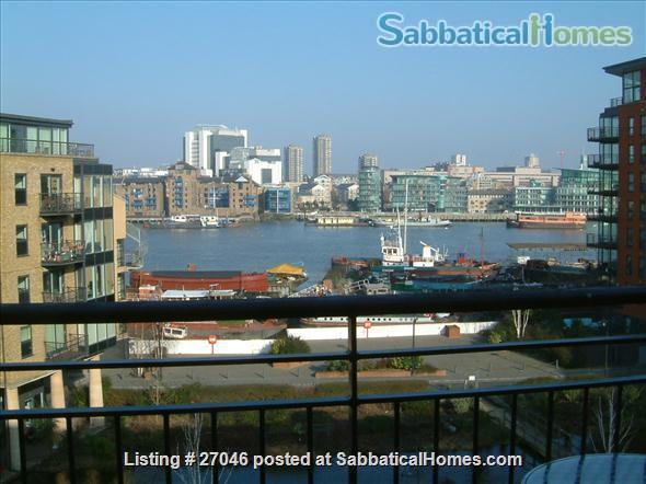 Quiet,  light, secure, river condo in heart of SE1 London Home Rental in London, England, United Kingdom 1
