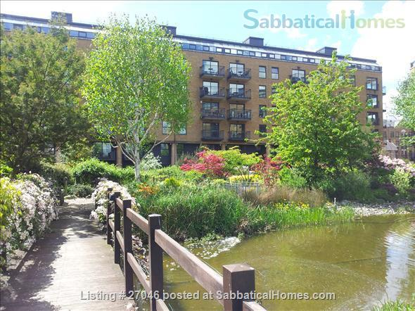 Quiet,  light, secure, river condo in heart of SE1 London Home Rental in London, England, United Kingdom 0