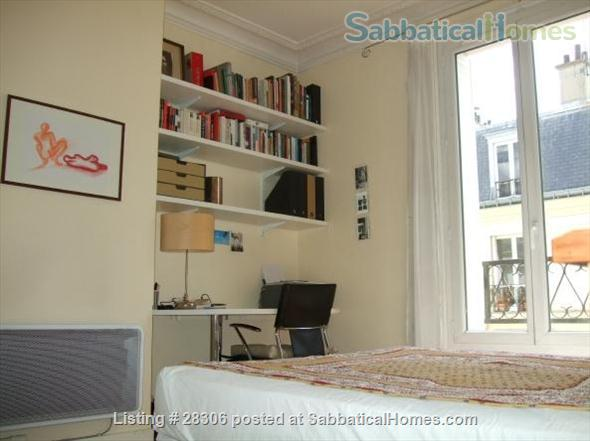 Paris Sunny Apartment with Living Room and Two Bedrooms (3 pièces) Home Rental in Paris, IDF, France 0