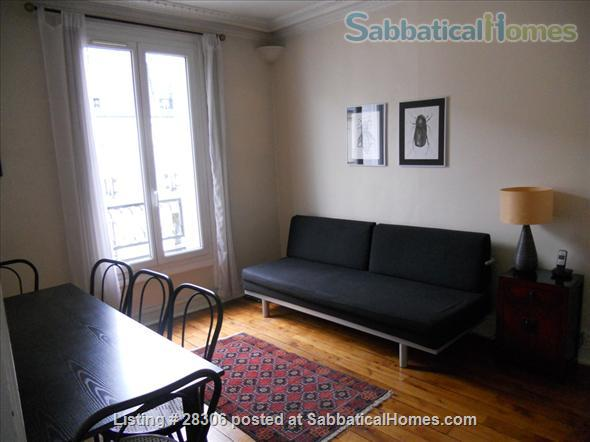 Paris Sunny Apartment with Living Room and Two Bedrooms (3 pièces) Home Rental in Paris, IDF, France 5