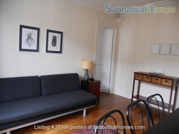 Paris Sunny Apartment with Living Room and Two Bedrooms (3 pièces) Home Rental in Paris, IDF, France 7