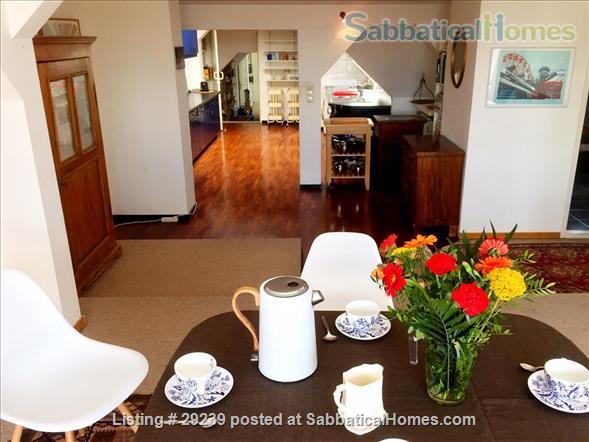 Beautiful bright apartment in trendy area next to quiet park in Berlin/Germany Home Rental in Berlin, Berlin, Germany 1