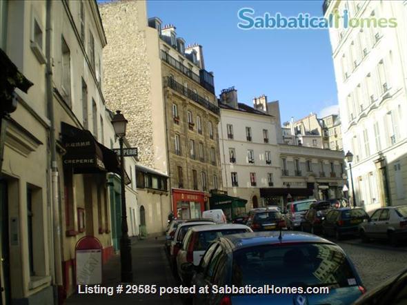 1 brm Montmartre apartment Home Rental in Paris, Île-de-France, France 1