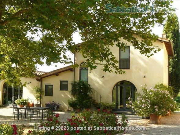 Converted Barn in Tuscany: near Florence/ Siena/ Arezzo (3 BR, 2LR, 1K,2 Bath) + Gardens with views  Home Rental in Bucine, Toscana, Italy 1