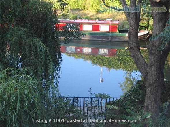 London Townhouse on Regents Canal (ISLINGTON) Home Rental in London, England, United Kingdom 1