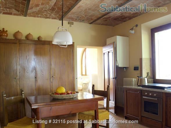 Spacious + Independent Half of 18th cent. Tuscan Villa + panoramic garden. Near Florence/ Siena/ Arezzo Home Exchange in Bucine, Toscana, Italy 2