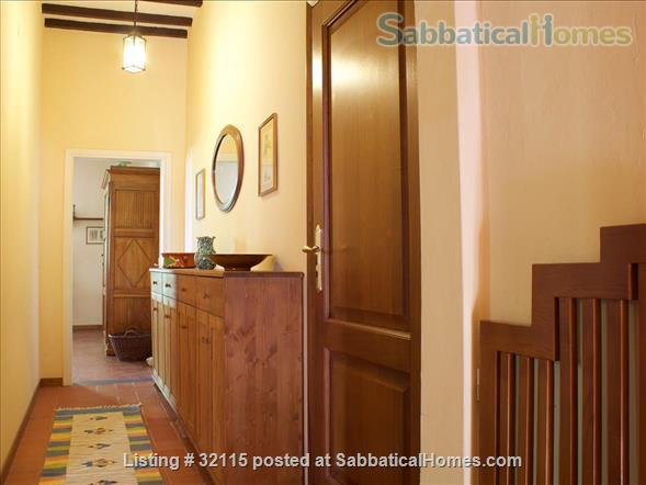 Spacious + Independent Half of 18th cent. Tuscan Villa + panoramic garden. Near Florence/ Siena/ Arezzo Home Exchange in Bucine, Toscana, Italy 5