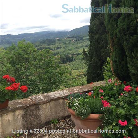 spacious and quiet 2 bedrooms on the Etruscan hill of Fiesole Home Exchange in Fiesole, Toscana, Italy 9