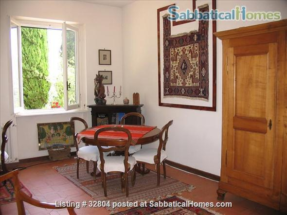 spacious and quiet 2 bedrooms on the Etruscan hill of Fiesole Home Exchange in Fiesole, Toscana, Italy 1