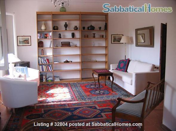 spacious and quiet 2 bedrooms on the Etruscan hill of Fiesole Home Exchange in Fiesole, Toscana, Italy 0