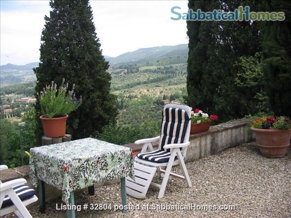 spacious and quiet 2 bedrooms on the Etruscan hill of Fiesole Home Exchange in Fiesole, Toscana, Italy 7