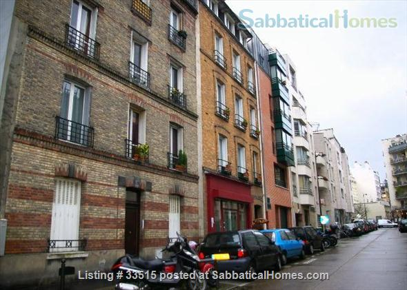 2 charming rooms in furnished apartment in Paris Home Rental in Paris, IDF, France 1
