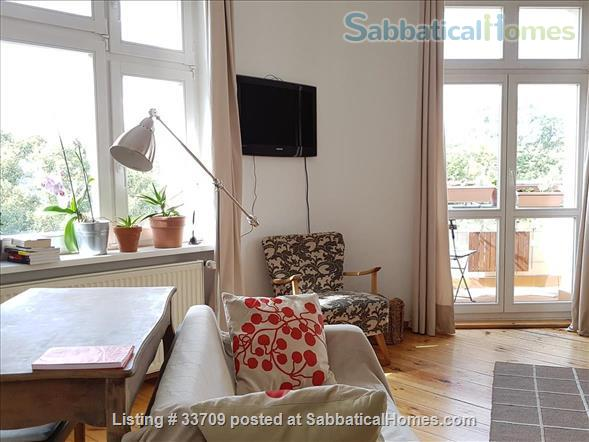 Sunny and comfortable 100sqm flat in artists quarter Friedrichshain Home Exchange in Berlin, Berlin, Germany 0