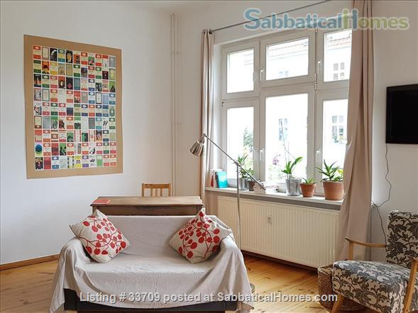 Sunny and comfortable 100sqm flat in artists quarter Friedrichshain Home Exchange in Berlin, Berlin, Germany 2