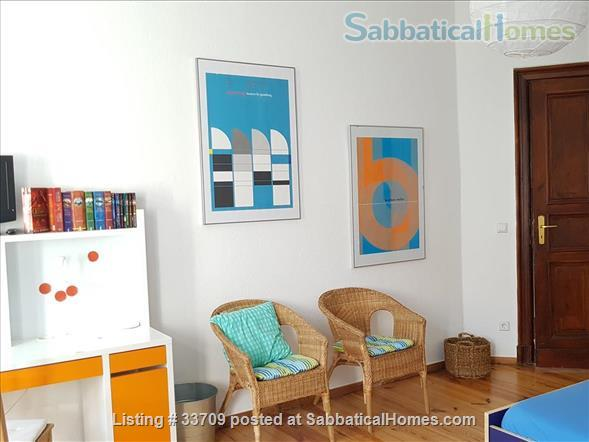 Sunny and comfortable 100sqm flat in artists quarter Friedrichshain Home Exchange in Berlin, Berlin, Germany 5