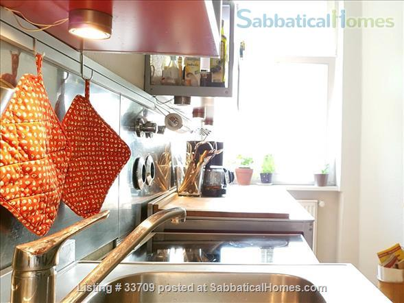 Sunny and comfortable 100sqm flat in artists quarter Friedrichshain Home Exchange in Berlin, Berlin, Germany 6