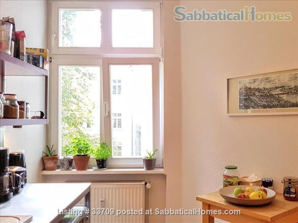 Sunny and comfortable 100sqm flat in artists quarter Friedrichshain Home Exchange in Berlin, Berlin, Germany 7