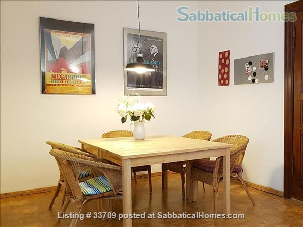 Sunny and comfortable 100sqm flat in artists quarter Friedrichshain Home Exchange in Berlin, Berlin, Germany 8