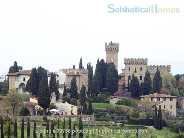 A romantic living on the hills of Florence Home Rental in Florence, Toscana, Italy 1