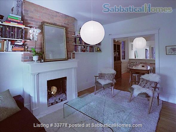 Summer in Toronto! Beautiful family home situated across the street from pretty Bickford park in Little Italy Home Rental in Toronto, Ontario, Canada 1
