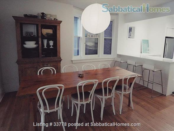 Summer in Toronto! Beautiful family home situated across the street from pretty Bickford park in Little Italy Home Rental in Toronto, Ontario, Canada 2