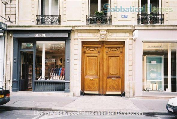 Beautifully Furnished 2 bedroom St. Germain Neighborhood Home Rental in Paris, IDF, France 1