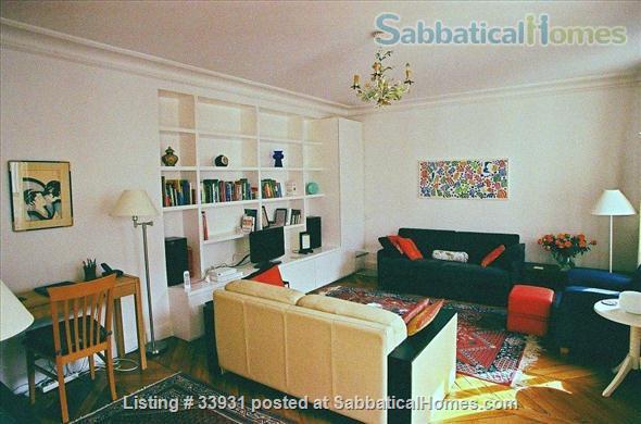 Beautifully Furnished 2 bedroom St. Germain Neighborhood Home Rental in Paris, IDF, France 2