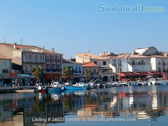 Fisherman's house, 30 minutes from  Montpellier University Home Rental in Mèze, Occitanie, France 0