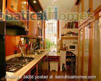 Rome, near Villa Borghese, bright ground floor with independent entrance and patio. Home Rental in Roma, Lazio, Italy 4